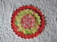 Flower and quilting