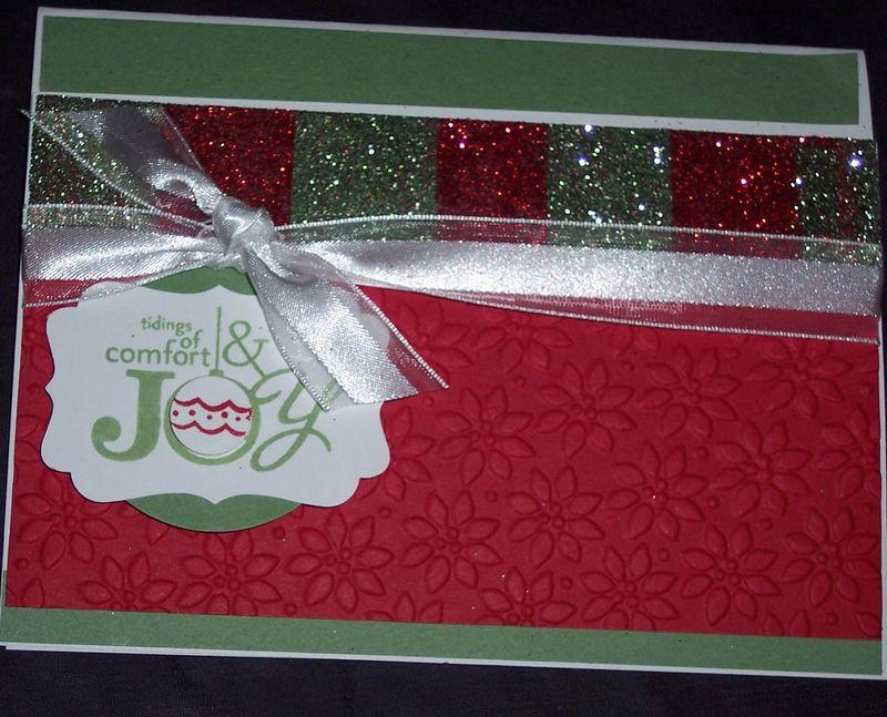 Joy clitter card
