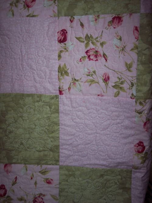 Catherines quilt detail 1