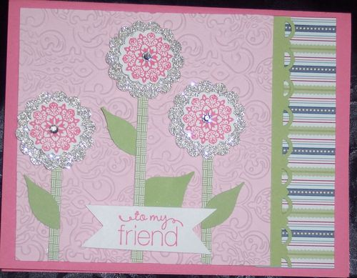 April card club Pink card
