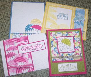 Sunshine & Sprinkles card set