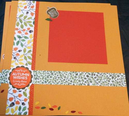 Scrapbook Pages Nov 2015 1