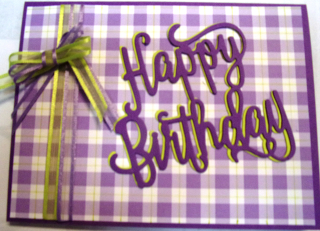Purple happy b