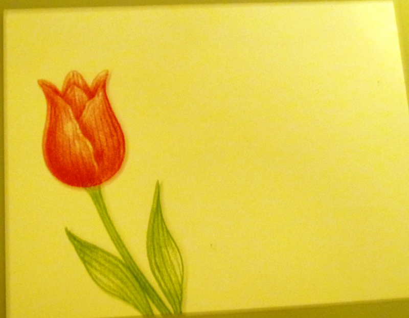 Timeless Tulip Avid envelope