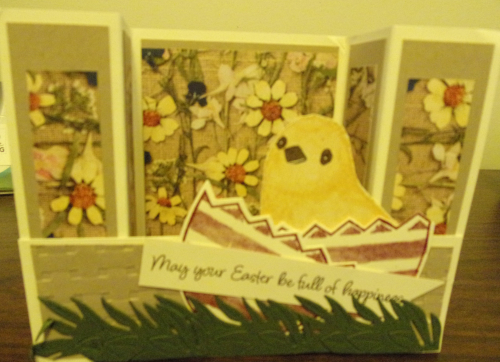 Debbie's Easter card
