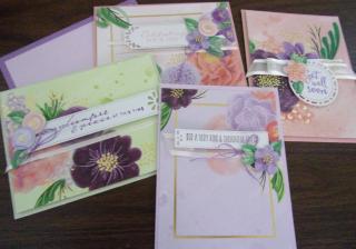 Prized Peony cards