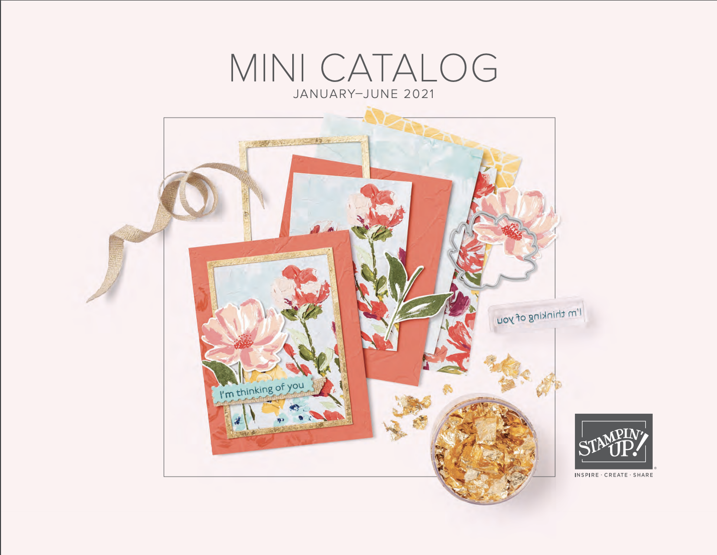 Stampin' Up! 2021 Spring Mini Catalog